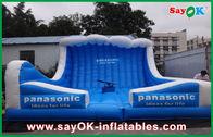 Chine Rebond gonflable de couleur bleue d'enfants grand pour l'événement/parc d'attractions usine