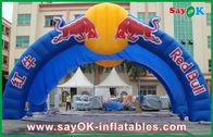 Chine Voûte gonflable bleue énorme de Red Bull pour emballer la publicité W7mxH4m usine