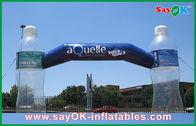 Chine La publicité de la voûte gonflable avec les produits gonflables faits sur commande de bouteille claire usine