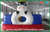 Chine Ville gonflable colorée mignonne d'amusement de rebond de PVC Materail pour le GV d'enfants approuvé usine