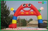 Chine Petite voûte bienvenue gonflable mignonne avec la main/jambes pour la décoration de vacances usine