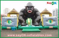 Chine Videur gonflable de Disney de géant avec la forme de chimpanzé pour des vacances usine