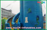 Chine Chambre gonflable bleue adaptée aux besoins du client de rebond de PVC/glissière gonflable usine