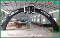 Chine voûte gonflable de finition de 6m x de 3m, ligne d'arrivée voûte pour des événements usine