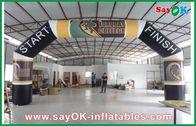 Chine Voûte gonflable de la publicité énorme, ligne d'arrivée gonflable de tissu d'Oxford voûte usine