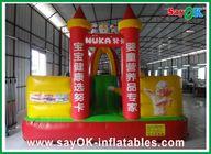 Chine Château plein d'entrain gonflable extérieur du tissu d'Oxford/PVC pour le parc d'attractions usine