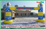 Chine Voûte gonflable de finition d'événements de la publicité avec le logo imprimant 6m x 3m usine