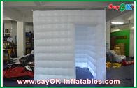 Chine Le tissu blanc d'Oxford de cabine mobile imperméable sûre de photo/PVC a enduit usine