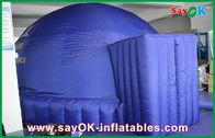 Chine Tente 5m gonflable bleu-foncé de dôme, dôme gonflable de projection de tissu de projection d'Oxford usine