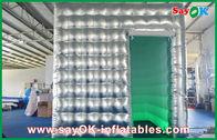 Chine Tissu gonflable mené d'Oxford de ruban de tente de cabine de photo de lumières/PVC usine