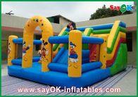 Chine Chambre de rebond de château de Mickey Mouse gonflable pour le divertissement de famille usine
