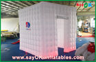 Chine Qui respecte l'environnement gonflable mené de cabine mobile de photo de tissu d'Oxford de lumières usine