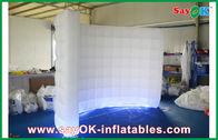 Chine La tente gonflable d'air d'événement/noce, éclairage mené a courbé le mur gonflable blanc usine