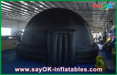 Architecture gonflable géante de dôme de planétarium d'igloo noir pour l'enseignement d'école