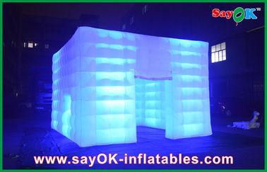 La tente gonflable imperméable durable d'air sont dehors assorties à la lumière menée
