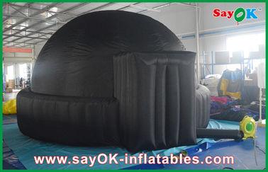 Planétarium gonflable noir géant du mobile 5m pour les écoles/la tente dôme d'air