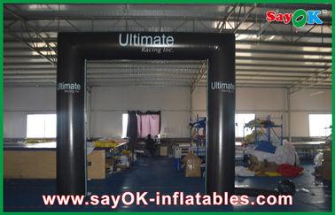 Porte pliable imperméable de porte de place de cube en PVC de modèle gonflable de voûte avec le logo