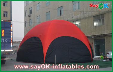 PVC gonflable extérieur de tente d'hexagone rouge de 3M grand pour la vocation