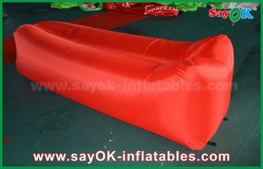 L'airbag léger de sommeil de tissu en nylon sautent la plage de divan d'air de sofa gonflable
