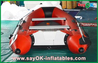 kayak gonflable de canoë-kayak de personne du plancher 4-6 d'alliage d'aluminium de bateaux de PVC de 0.9mm