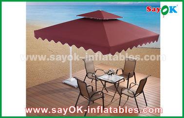 parapluie de publicité de patio de jardin de plage de parapluie de 2,5 * de 2.5M Sun