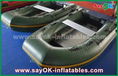Verdissez 0,9/1,2 millimètres de bâche de bateaux de PVC Inflatabe avec le plancher/palettes en aluminium