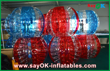 De bulle gonflable du football transparent de PVC/TPU boule humaine pour l'adulte/enfant