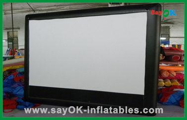 Cinéma en format large gonflable commercial d'écran gonflable de cinéma