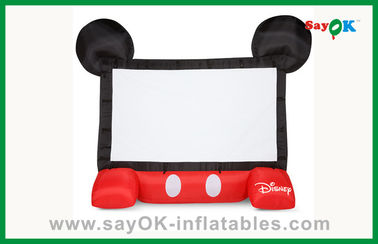 Écran gonflable mobile de projecteur d'enfants de cinéma gonflable drôle de Disney