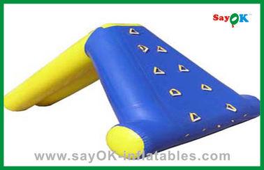 Glissière d'eau gonflable résidentielle faite sur commande, jouets de piscine d'eau d'enfants