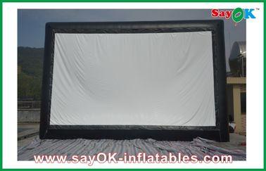Cinéma gonflable de tissu professionnel, écran extérieur gonflable pour des événements