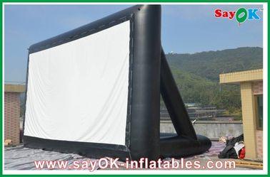 Écran gonflable du tissu TV de projection certificat de la CE de 6 x de 3m/GV