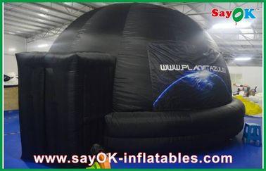 Planétarium gonflable d'école, tente gonflable ignifuge de dôme de projection