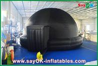Planétarium gonflable noir, cinéma gonflable durable de mobile de tente de projection